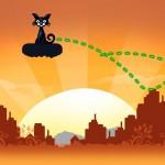 Cat Physics - liczenie punktów