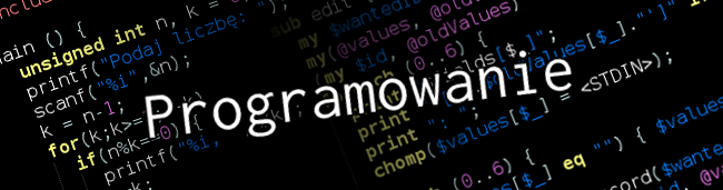 Blog - kategoria programowanie